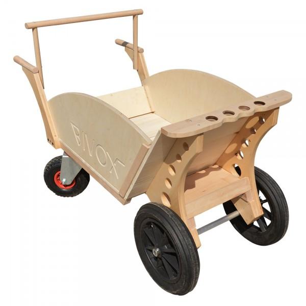 Brouette chariot bivox garden k - Brouette en bois de jardin ...
