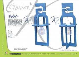 LANTERNE-GARDEN K-SUSPENSION-