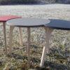 TABLES RONDES BASSES DESIGN