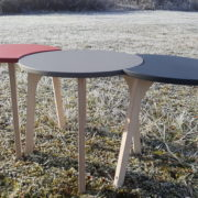 TABLES RONDES BASSES DESIGN